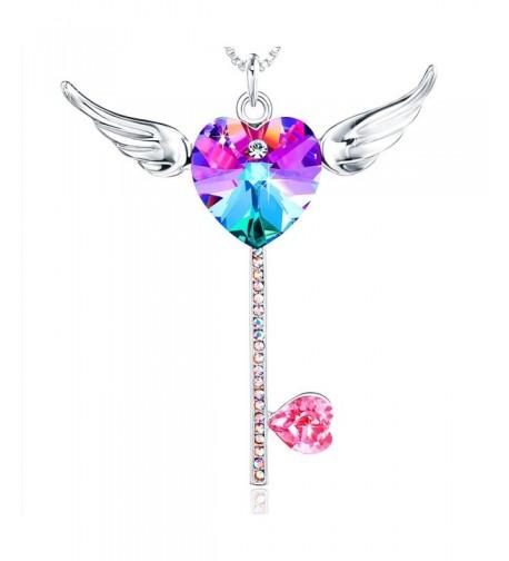 Crystals Swarovski Pendant Necklace Daughter