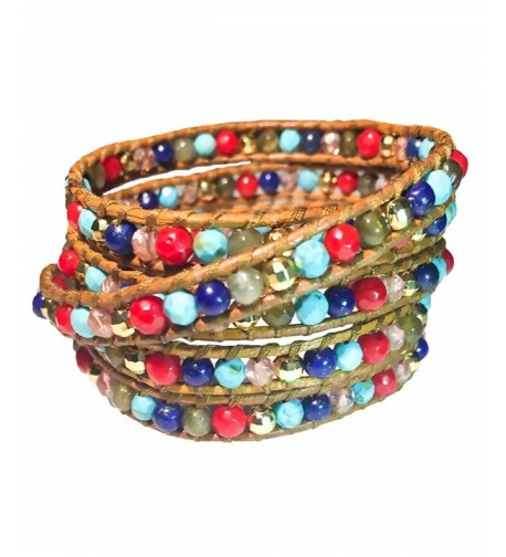 Colorful Gemstone Bracelet Emily LaRosa