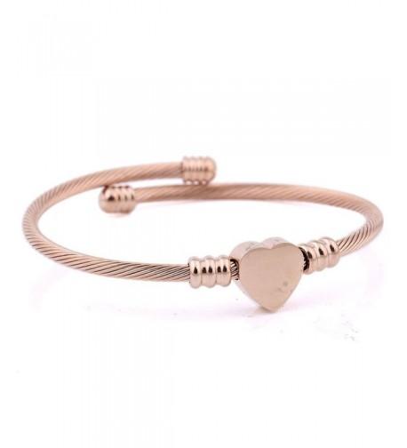RoseSummer Titanium Shaped Bracelet Twisted