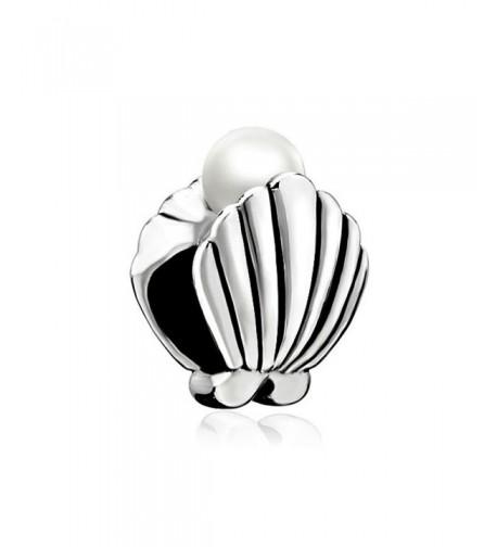 LovelyJewelry Shell Charm Beads Bracelet