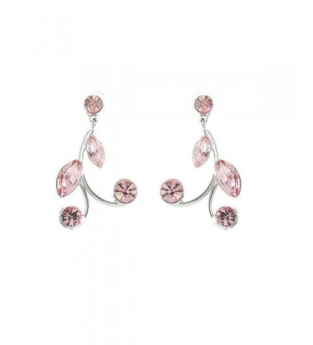 Glamorousky Earrings Austrian Element Crystals
