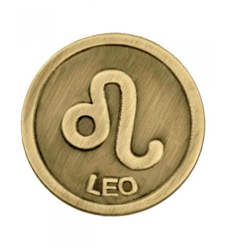 PinMarts Antique Zodiac Symbol Lapel