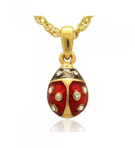 MYD Jewelry Plating Ladybug Necklace