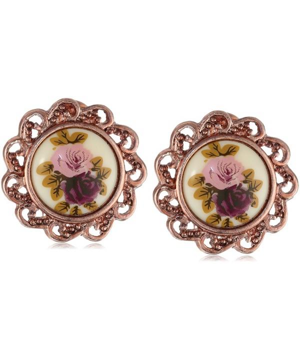 1928 Jewelry Manor Gold Tone Earrings