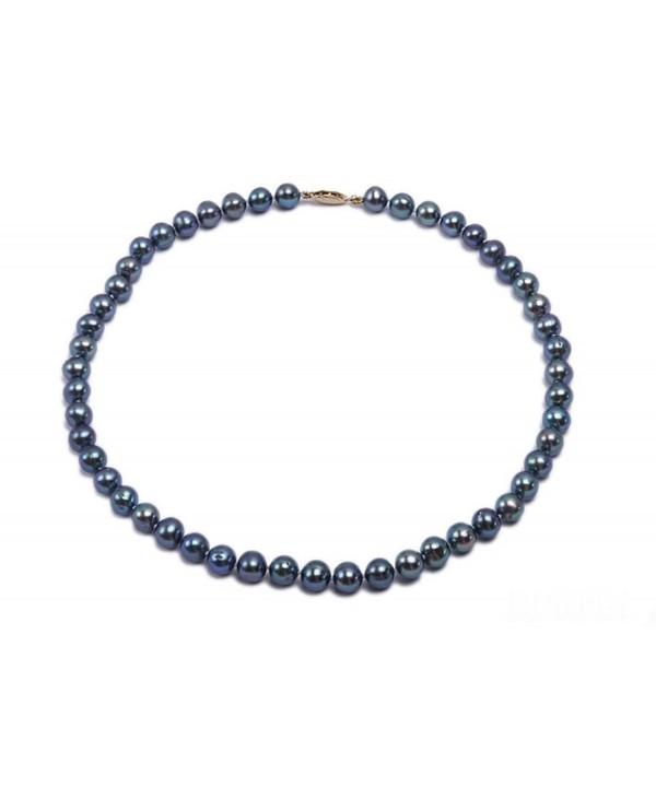 Fashionable Single strand Freshwater Pearl Necklace