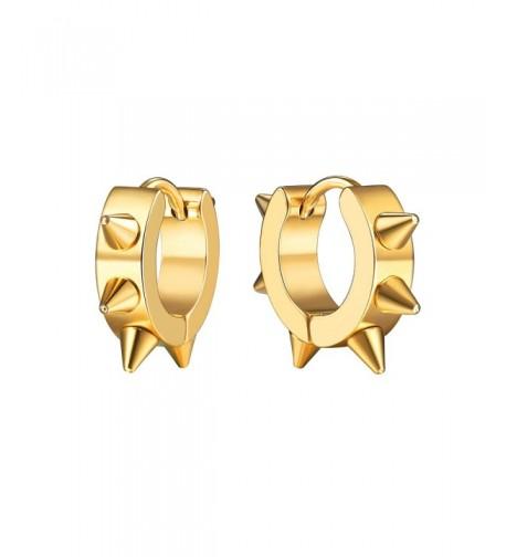 Earrings Jewelry Plated Huggie PSE2532J