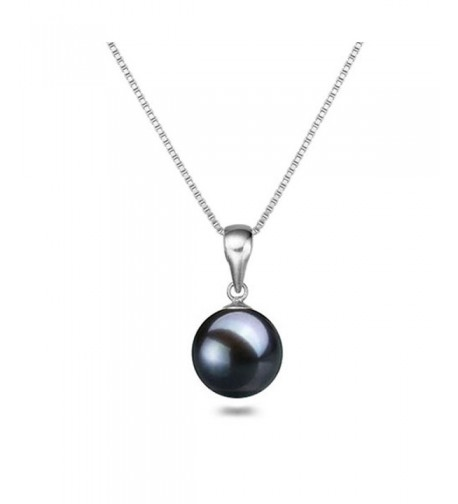 Japanese Freshwater Cultured Necklace Solitaire