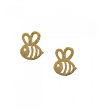 Spinningdaisy Handcrafted Brushed Bumble Earrings