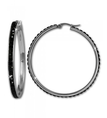 Amello Stainless Swarovski elements diameter