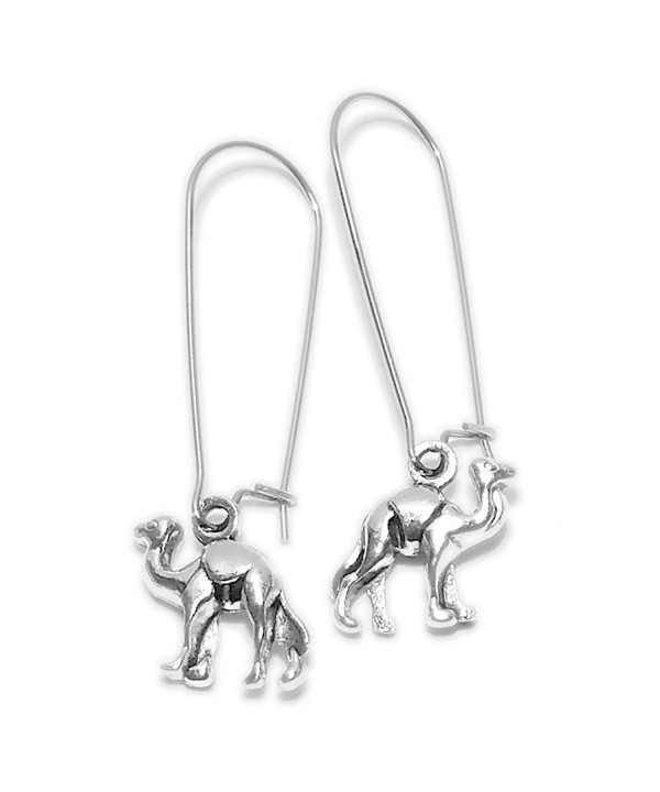 Sabai NYC Camel Earrings Stainless