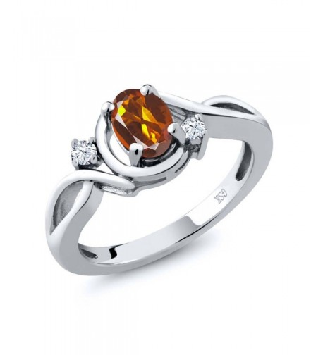 Orange Madeira Citrine Sterling Available