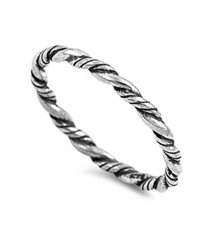 Eternity Braid Sterling Silver RNG15394 9