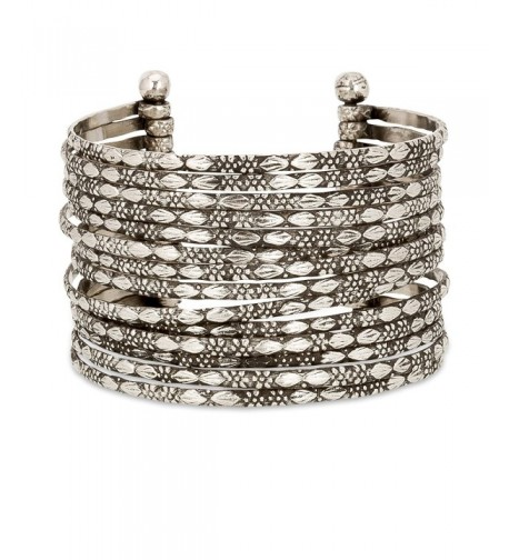 Metal Bracelet Silver SPUNKYsoul Collection