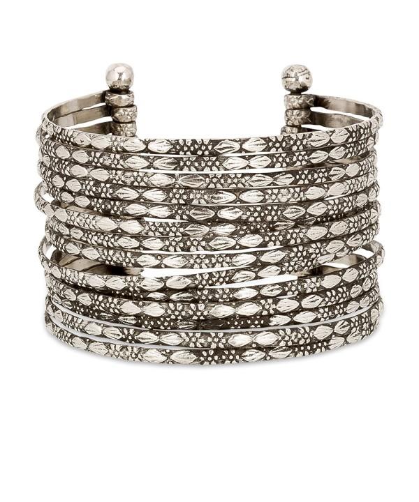 Metal Bracelet Silver SPUNKYsoul Collection