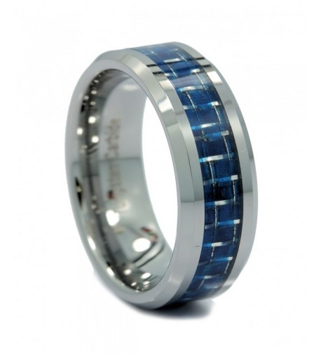 MJ Polished Tungsten Carbide Wedding