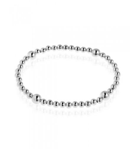 Elastic Sterling Silver Stretch Bracelet