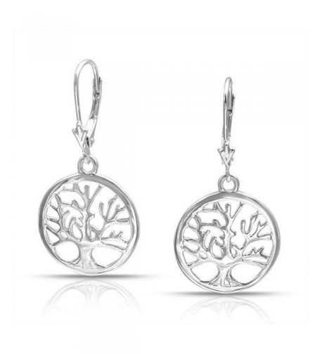 Silver Family Leverback Earring Earrings