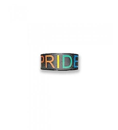 Single Black Silicone Pride Bracelet