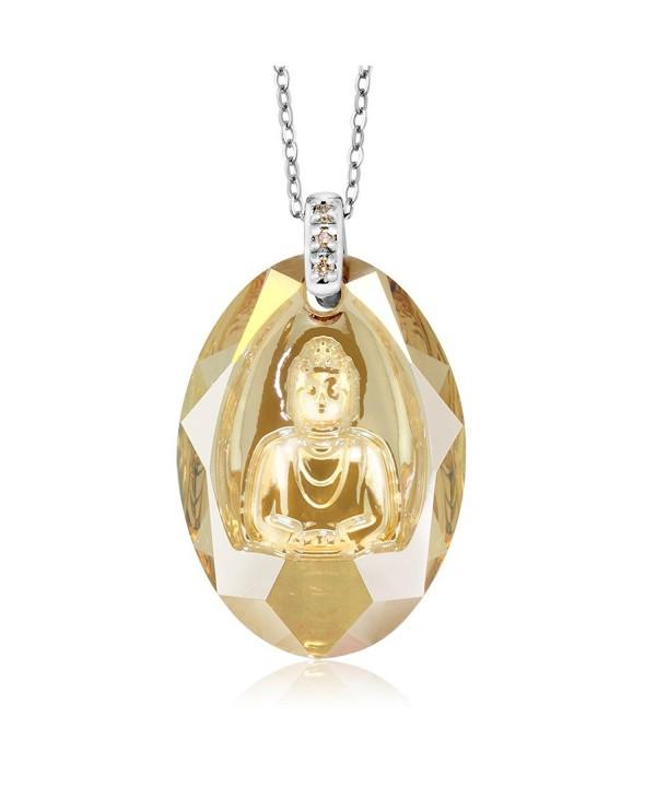 Sterling Necklace Diamonds Swarovski Elements