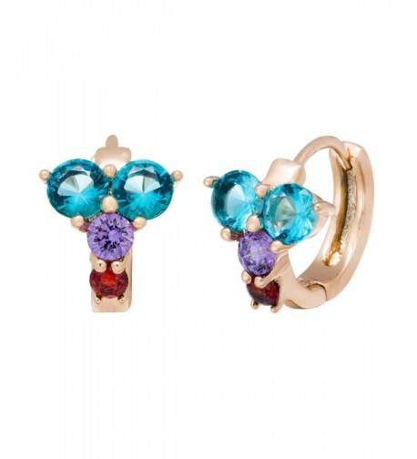 Romantic Time Fashion Diamond Earrings