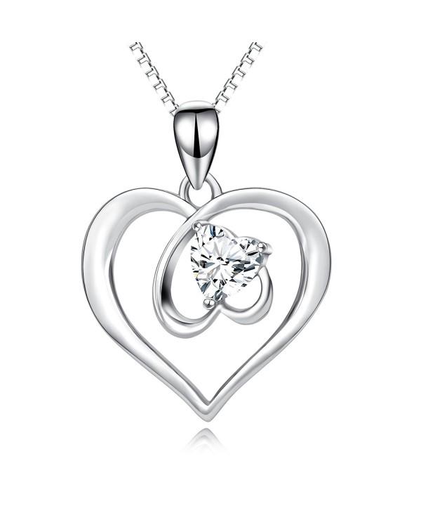 Sterling Silver Hollow Heart Earrings S925 Metal Endless Love Series as for Women Teen Lover