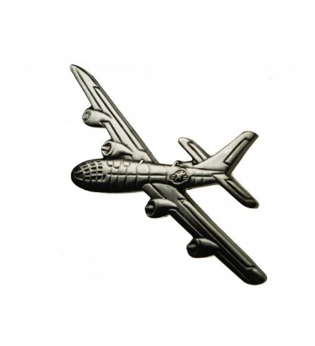 Superfortress Bomber pewter plated plane
