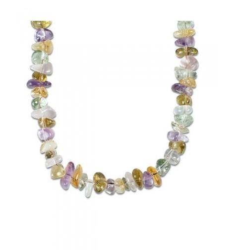 Relios Pastel Gemstone Beaded Necklace