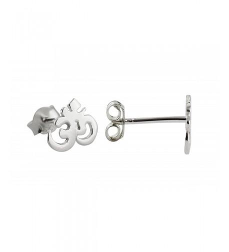 Sterling Silver Earrings Butterfly Backings