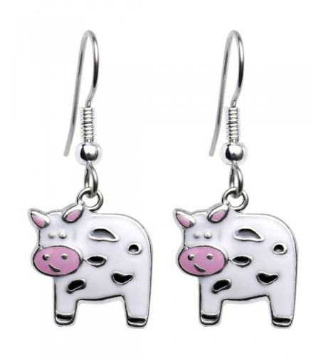 Body Candy Moo Cow Earrings