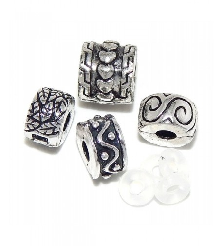 Assorted Collection Stoppers Compatible Bracelets