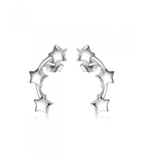 Sterling Silver Climber Crawler Earrings