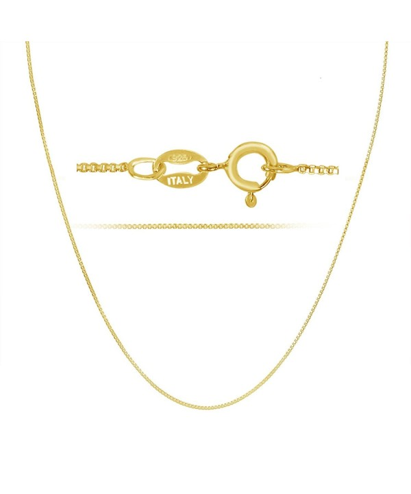 Plated Sterling Silver Sturdy Necklace