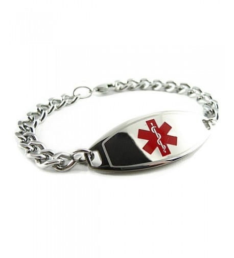 MyIDDr Pre Engraved Customized Hypoglycemia Bracelet