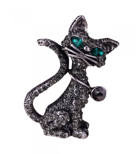 YACQ Womens Crystal Brooch Halloween