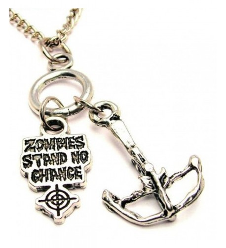 ChubbyChicoCharms Crossbow Zombies Cluster Necklace