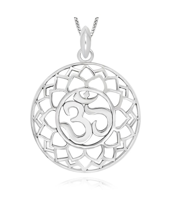 Sterling Silver Symbol Pendant Necklace