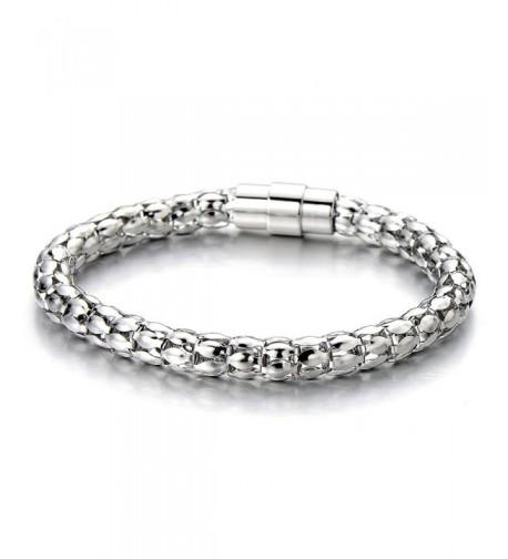 Stainless Steel Ladies Bracelet Polished