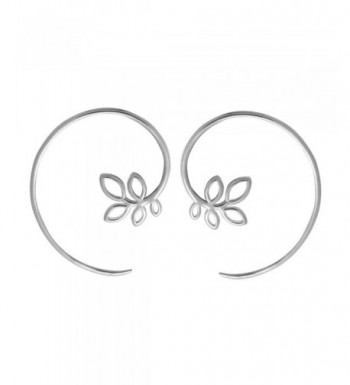 Boma Sterling Silver Through Earrings