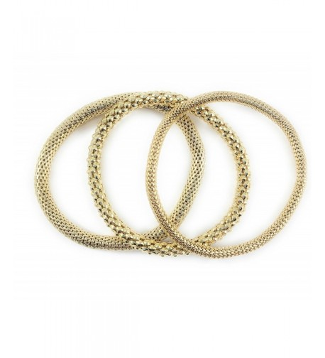 Filled Chain Stretch Multilayer Bangles