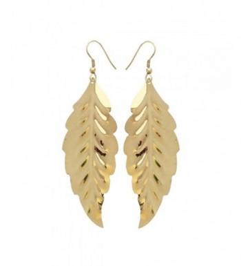 Gold Tone Earrings Lightweight Dangles Pasquali