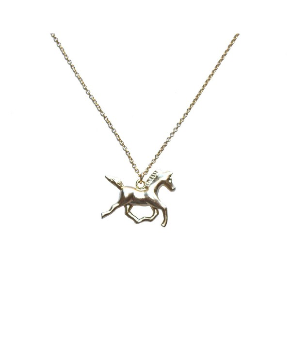 Freena Design Horse Necklace Golden