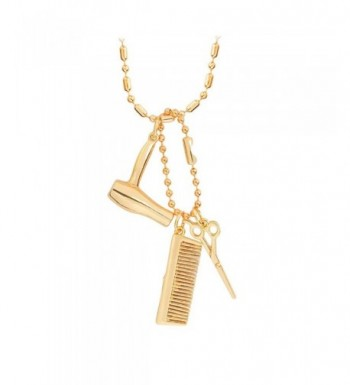 Meiligo Fashion Hairdresser Scissors Necklace