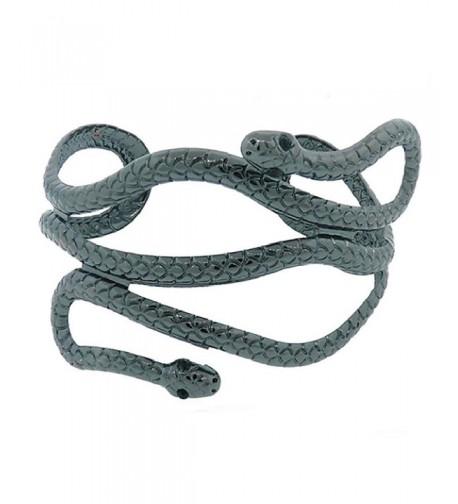 Rosemarie Collections Adjustable Bracelet Hematite