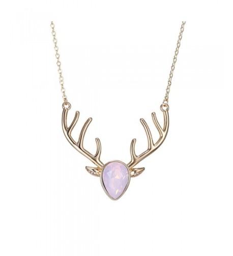 eManco Statement Cyrstal Necklace Jewellery