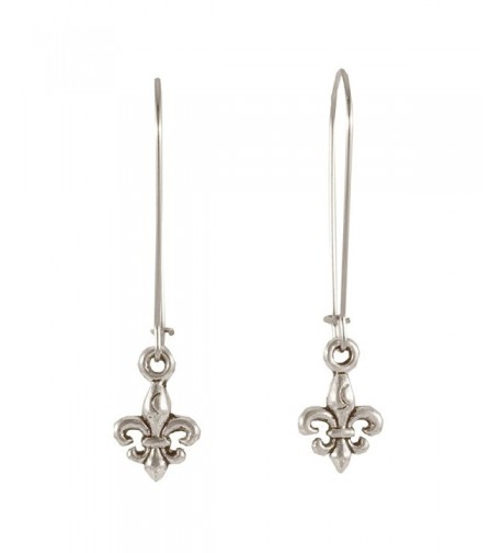 Sabai NYC Silvertone Earrings Earwires