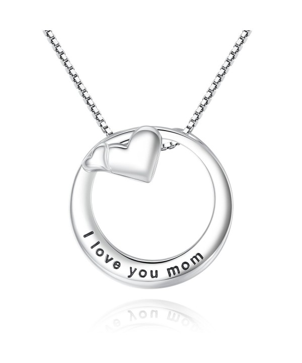Double Pendant Necklace Mothers Mother