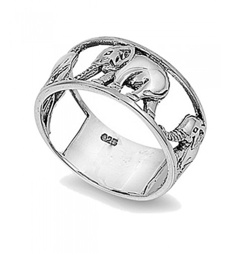 Sterling Silver Wedding Engagement Elephant