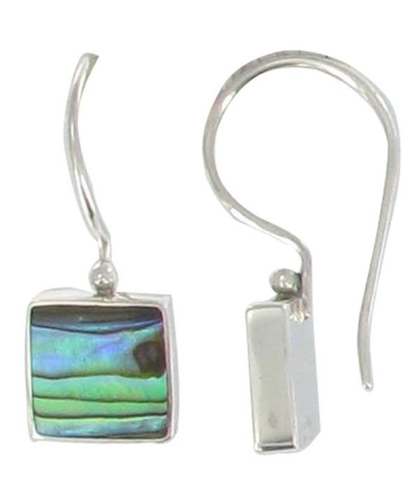 Poulettes Jewels Sterling Earrings Abalone