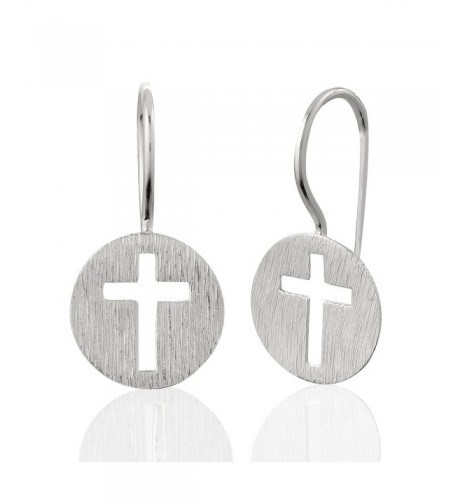 Sterling Endless Symbolic Christian Earrings
