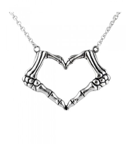 CONTROSE Skeleton bone necklace pendant